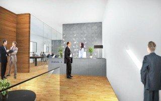 עיצוב מבנה משרדים
