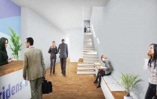 תכנון משרדי חברת תובלה