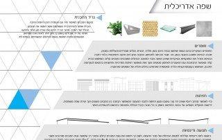 שפה אדריכלית של הפרויקט