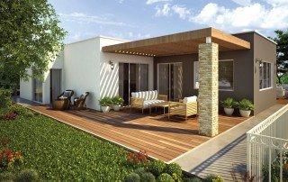 בית באלישיב אדריכלות- חזית אחורית