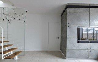 עיצוב דופלקס מבט מהכניסה