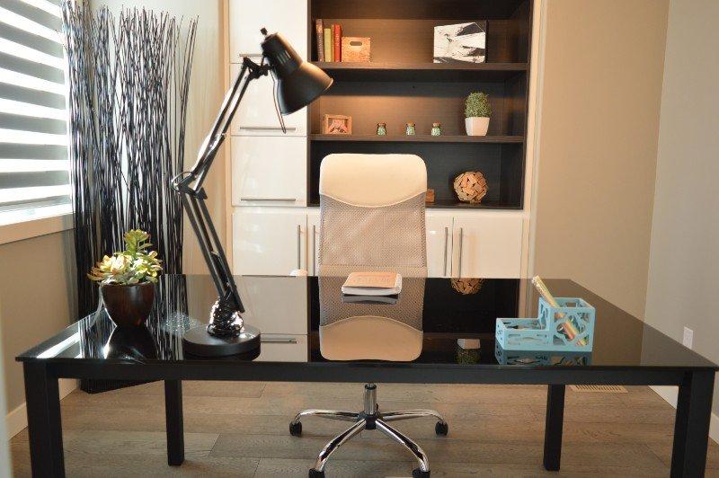 עיצוב של משרד בבית