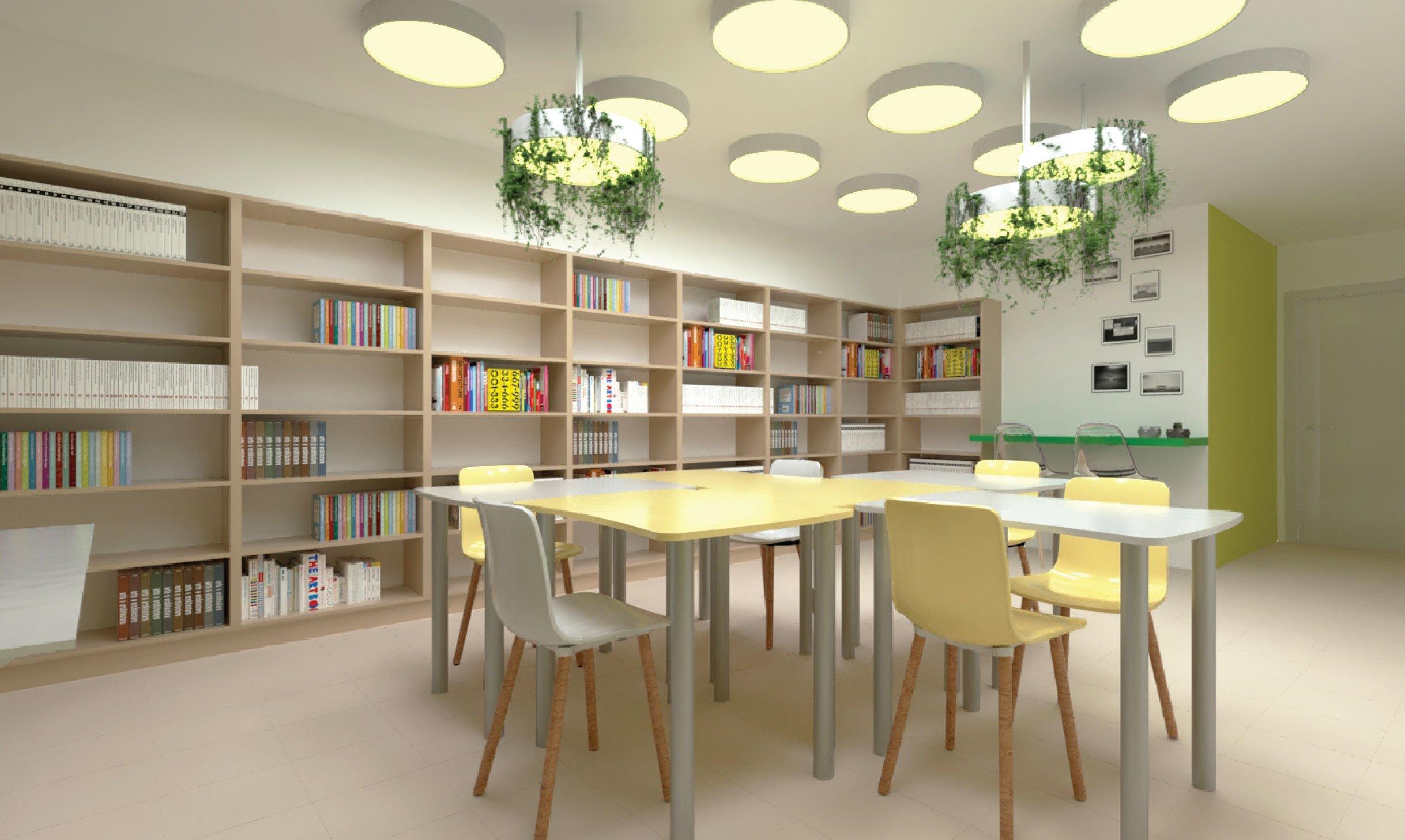 תכנון ועיצוב סיפריית בית ספר