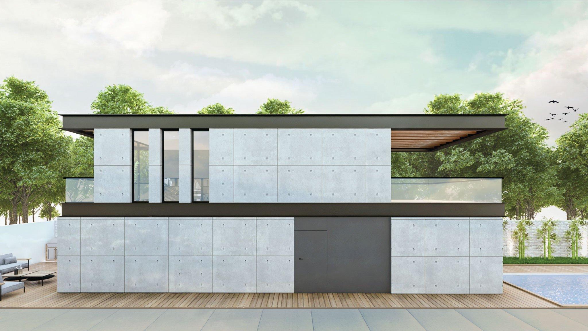 תכנון ועיצוב בית פרטי- וילה