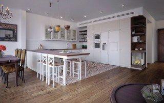 עיצוב פנים בית בתל אביב תכנון מטבח