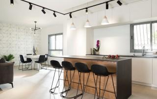 תכנון מטבח יחידת דיור מקבלן