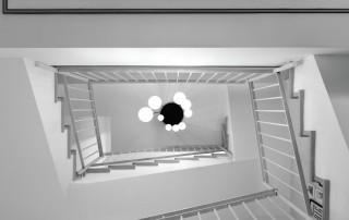עיצוב פיר המדרגות
