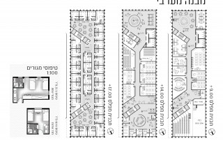 תכניות המבנה המערבי ויחידות האירוח