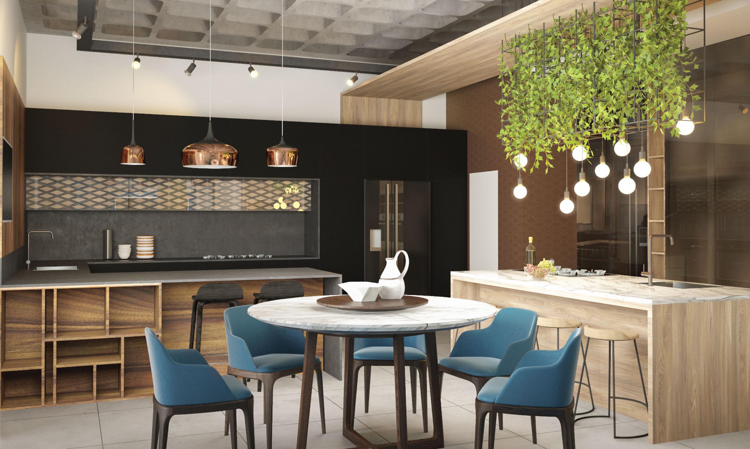 עיצוב אולם תצוגה למטבחים