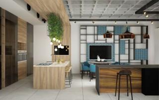 תכנון אולם תצוגה מטבחי בוטיק