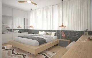 תכנון חדר שינה הורים