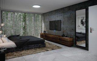 תכנון חדר שינה במרתף