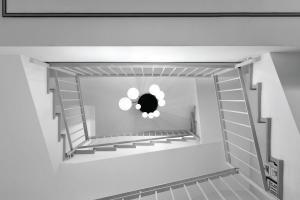 עיצוב חלל המדרגות