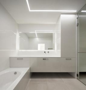 עיצוב חדר רחצה וסאונה רטובה בתל אביב